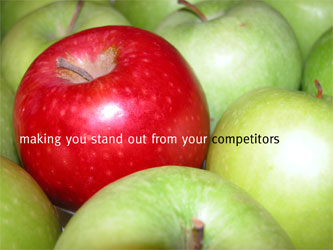 making you stand our from your competitors