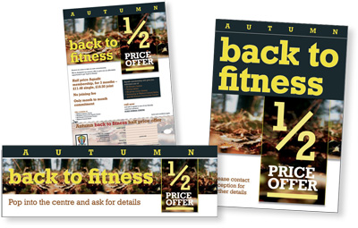 Bodyfit Gym, 'back to fitness' campaign