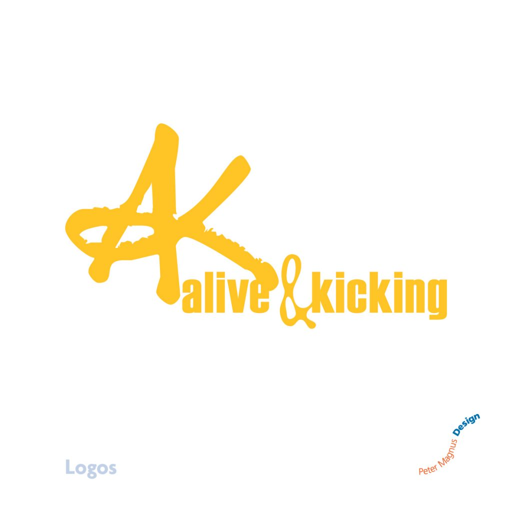 Alive and Kicking church youth club logo