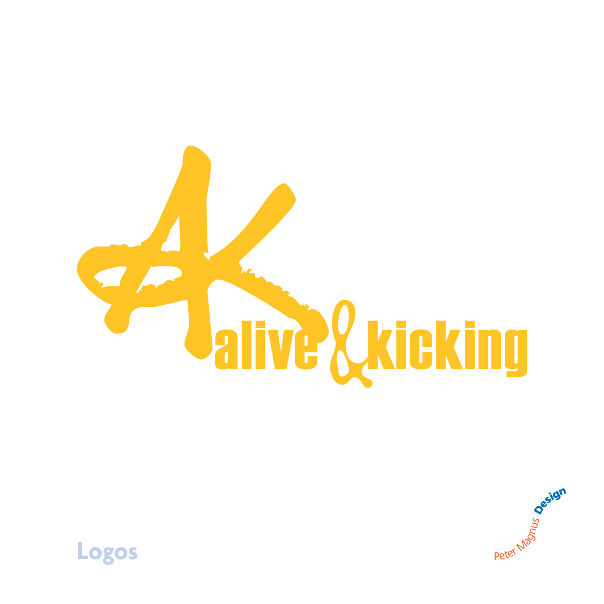 Alive and Kicking church youth club logo