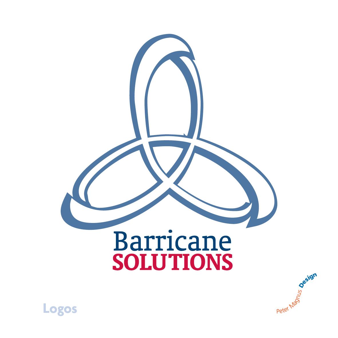 Barricane Solutions logo, logistics company