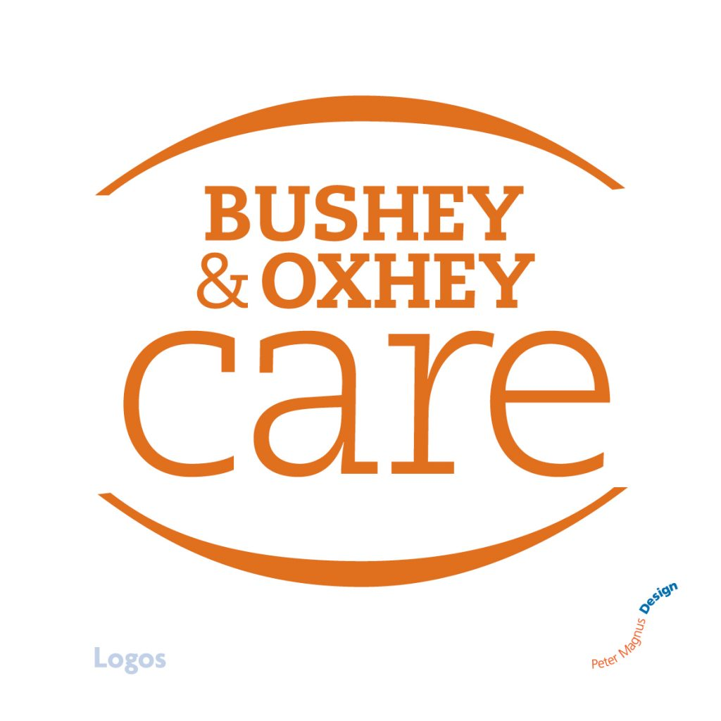 Bushey and Oxhey Care logo, home care charity
