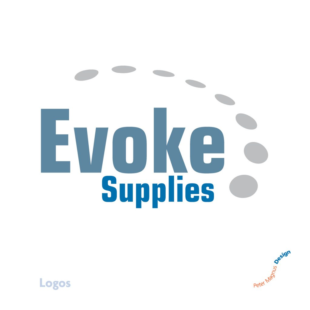 Evoke Supplies logo, engineering products company