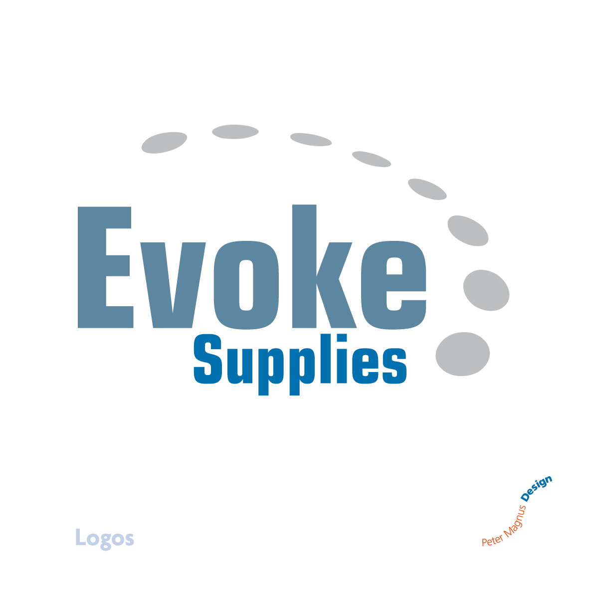 Evoke Supplies logo, engineering products company