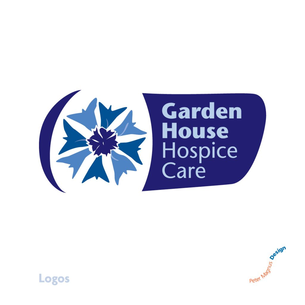 Garden House Hospice Care corporate identity, Welwyn Garden City, Herts