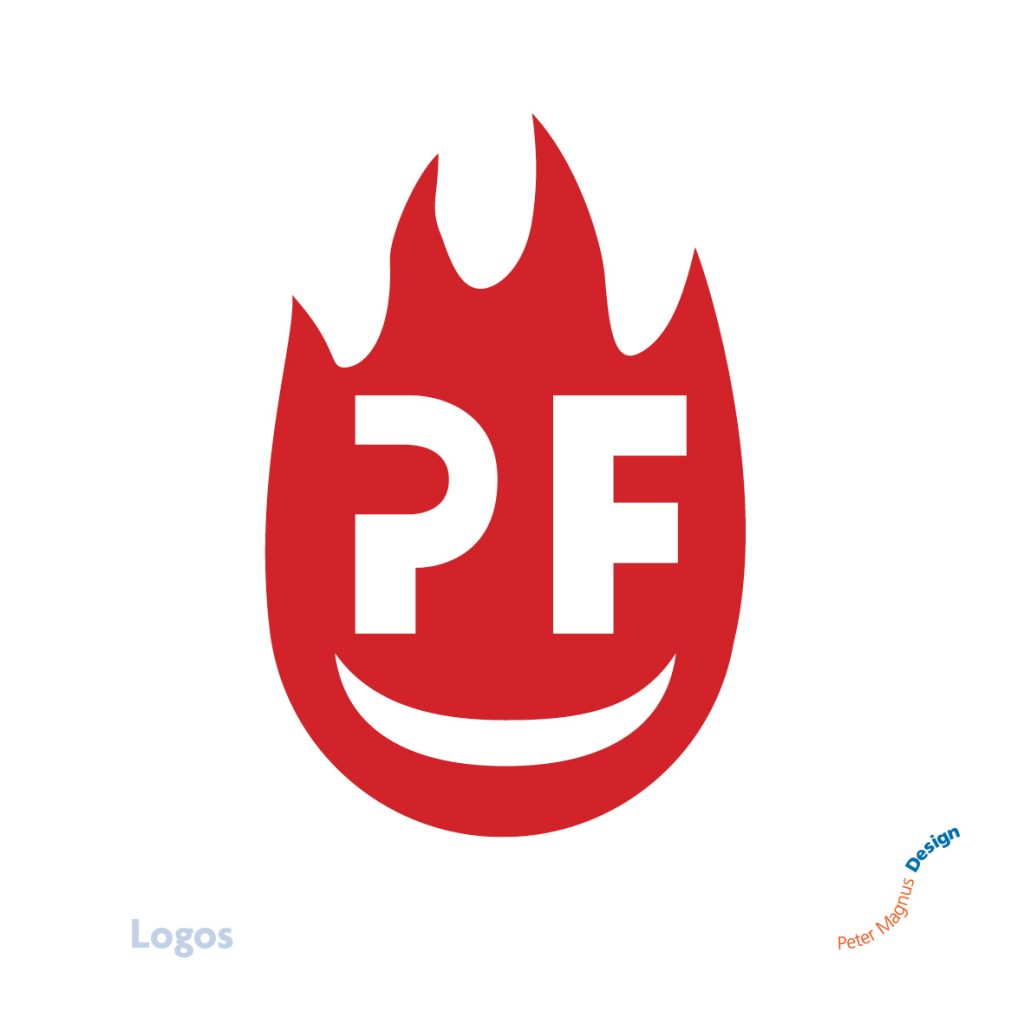 Petefire Artist Blacksmith logo, Watford, Herts