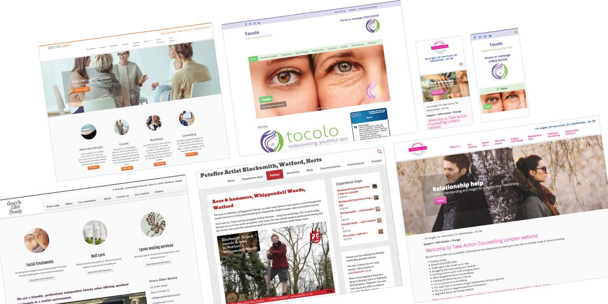 We're Watford website designers – also St Albans & Hemel Hempstead, we're Peter Magnus Design