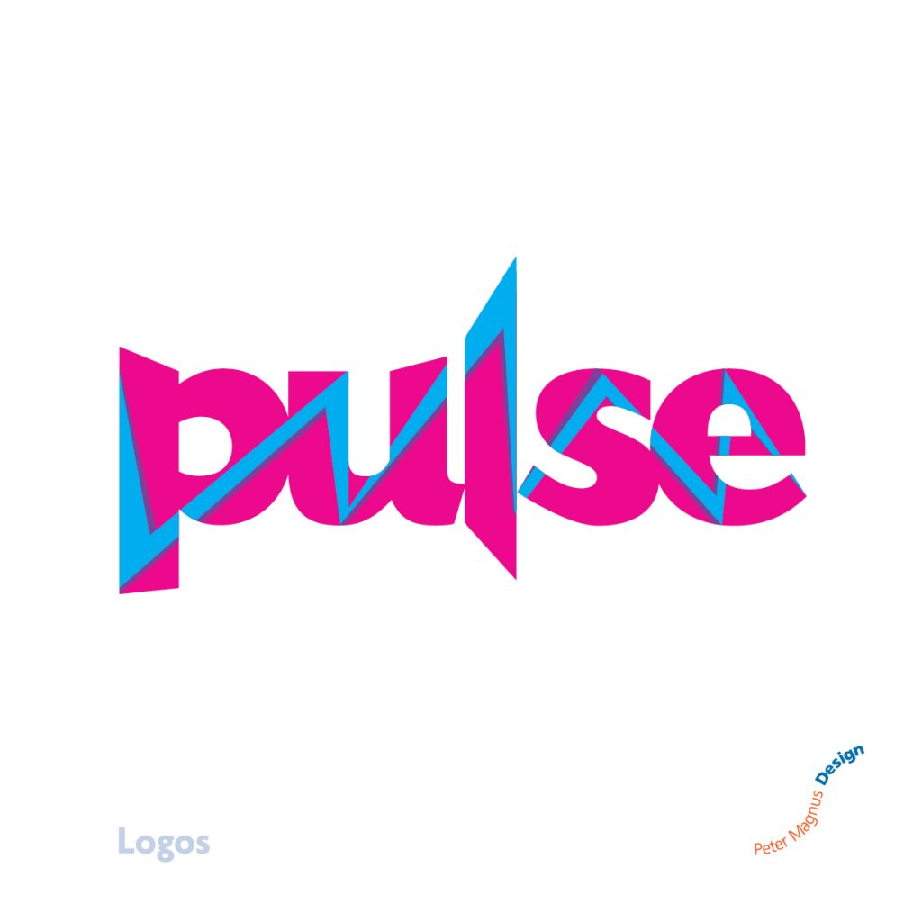 Pulse youth club logo, Bushey Baptist Church, Herts