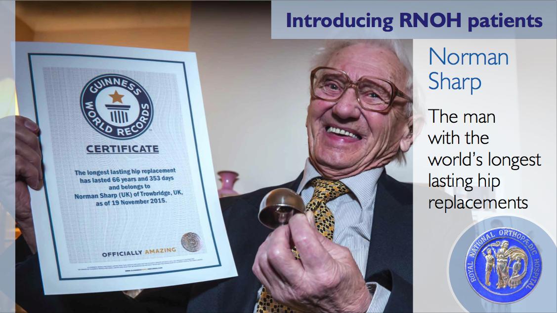 RNOH (Royal National Orthopaedic Hospital) PowerPoint presentation