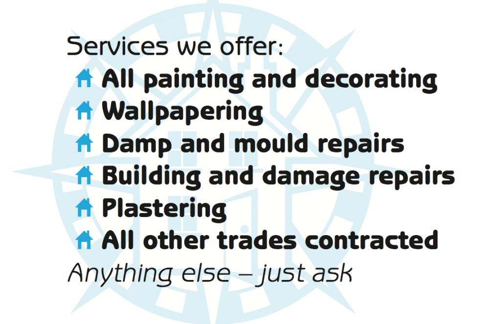 Capital Renovations (South) Ltd business card design