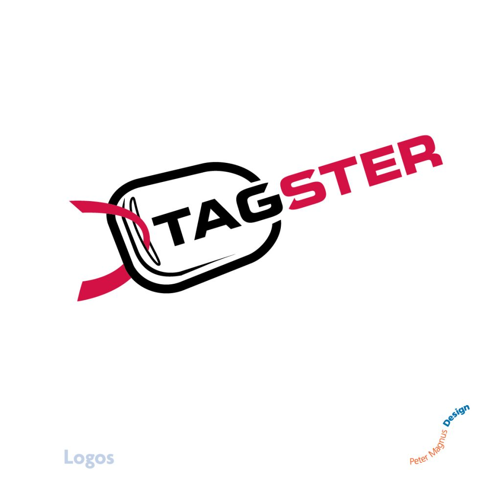Tagster Motortrade logo, West London