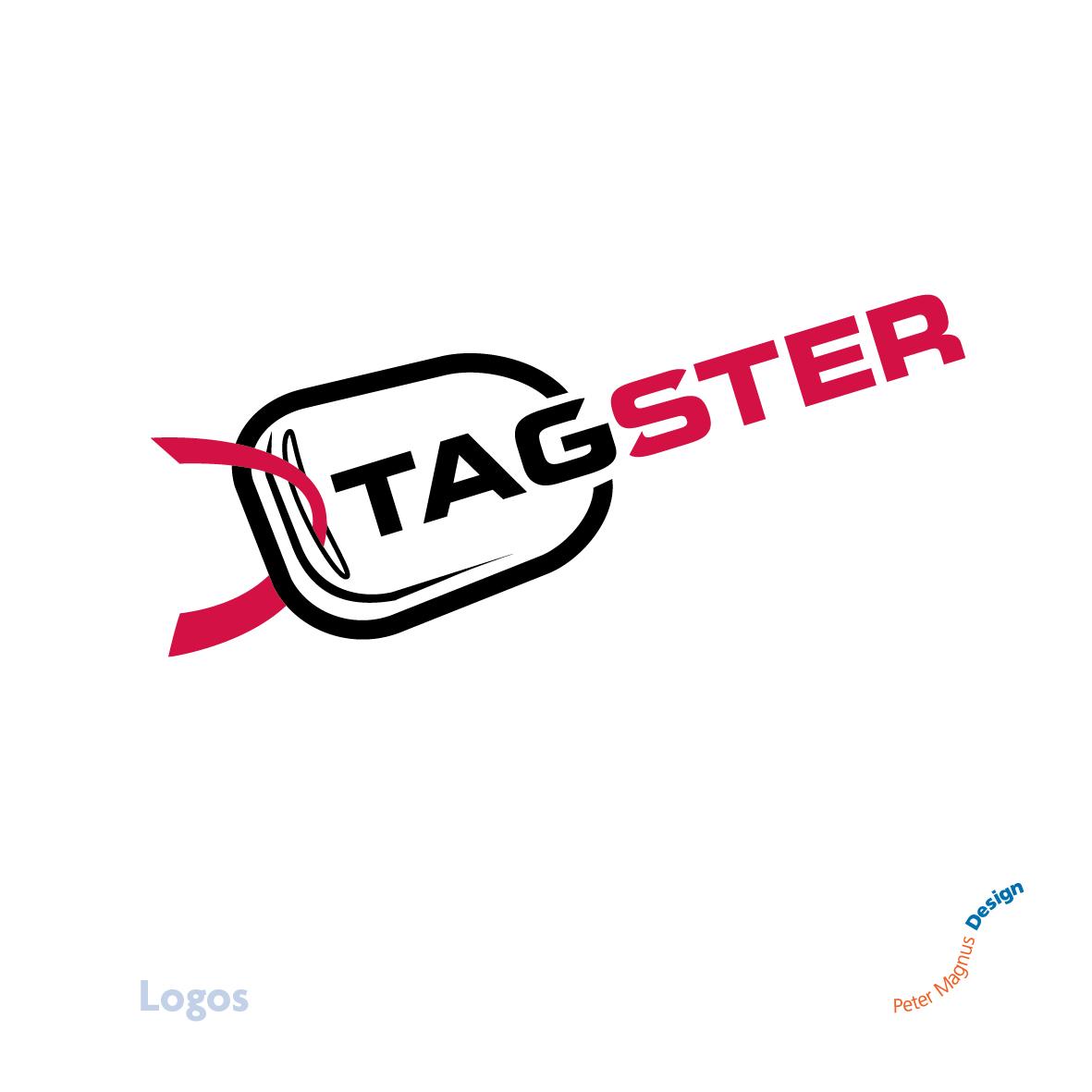 Tagster Motortrade logo, West London