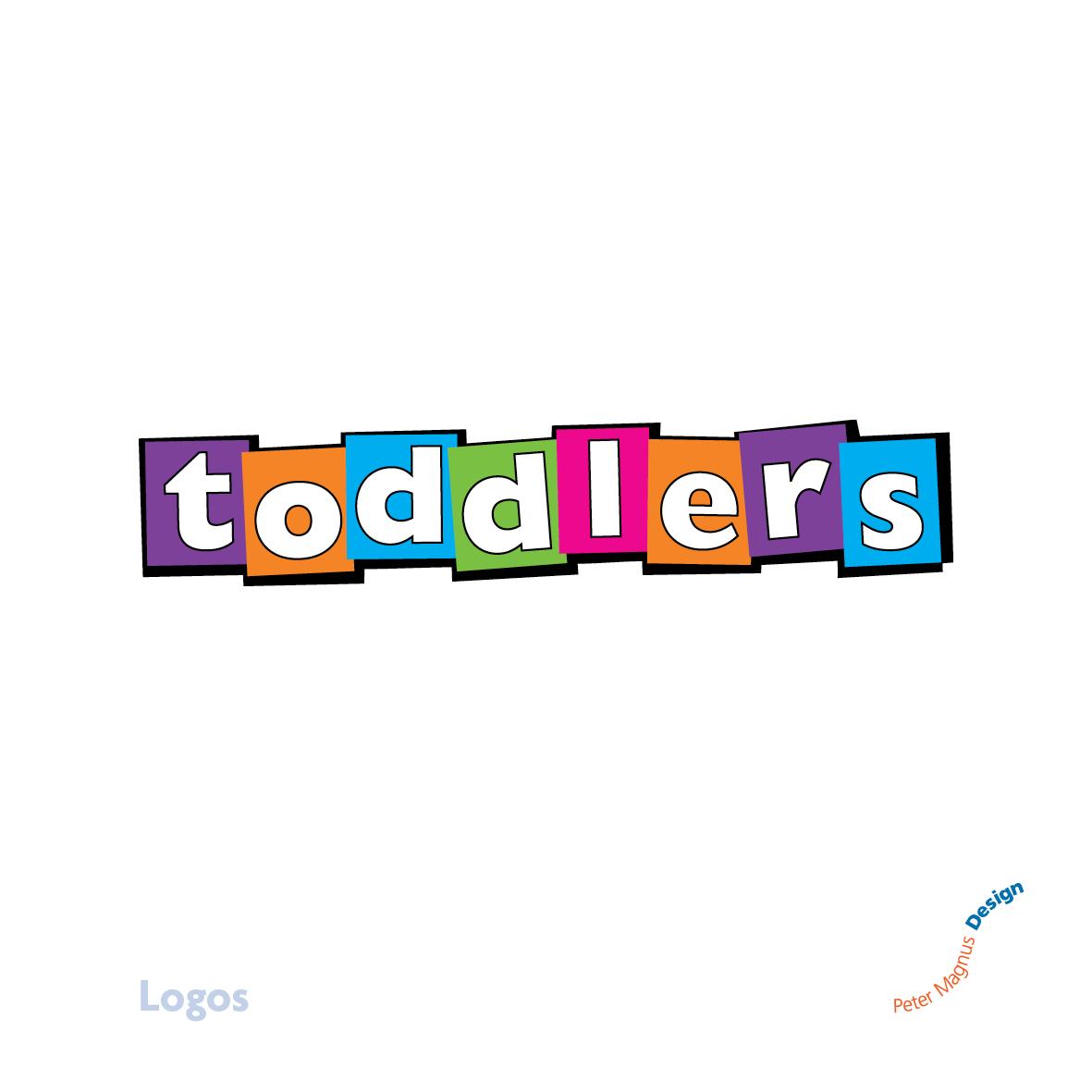 Toddlers club Bushey Baptist Church logo design