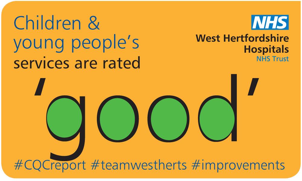 We designed a set of social media graphics for WHHT (West Hertfordshire Hospitals NHS Trust)