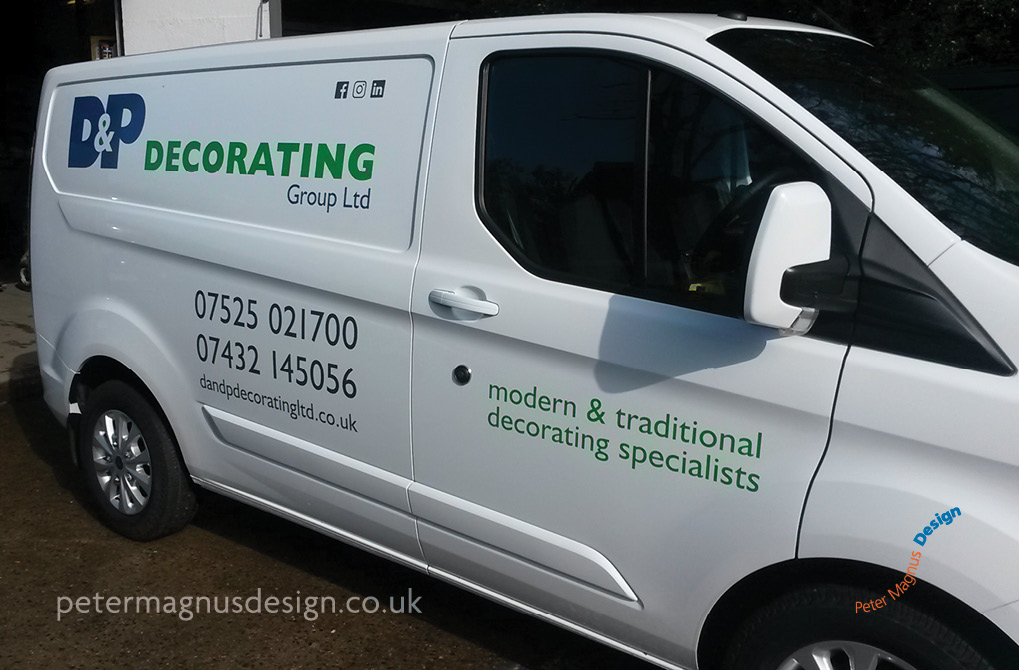 Design for vehicle signs in Watford