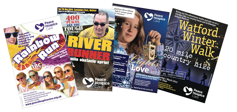 Leaflets for charities in watford