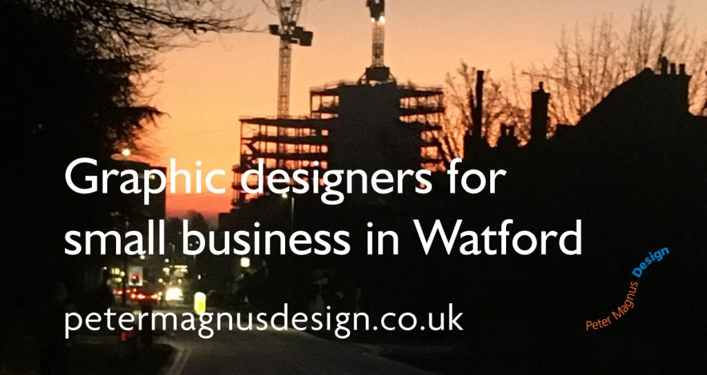 Graphic designers for small business in Watford – we're Peter Magnus Design
