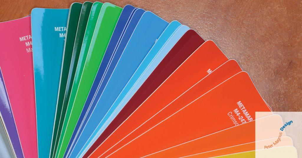 Peter Magnus Design colour swatches