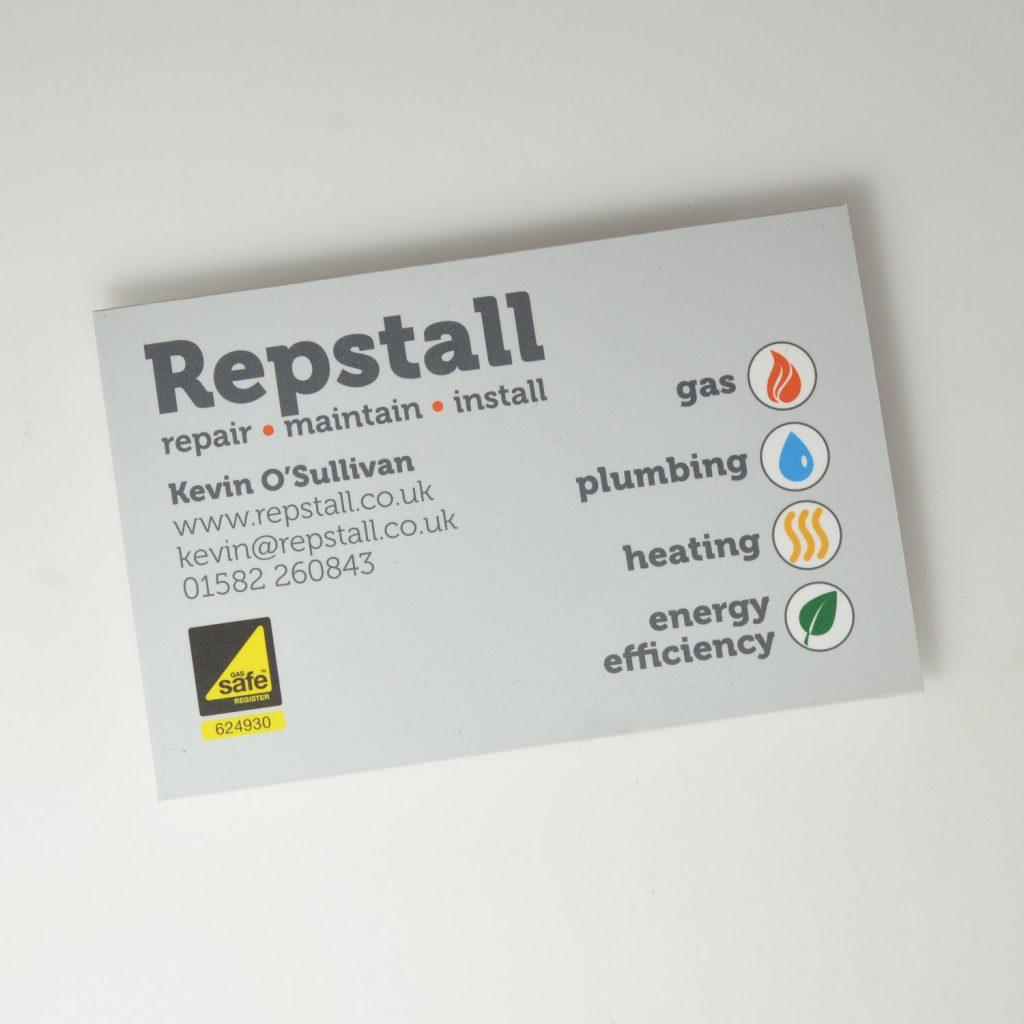 Peter Magnus Design, Watford business cards & stationery